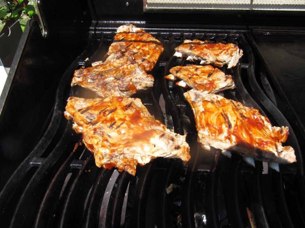 Rezept Nr. 22: Meine vorgekochten schnellen Spareribs für Hungrige. (4/5)