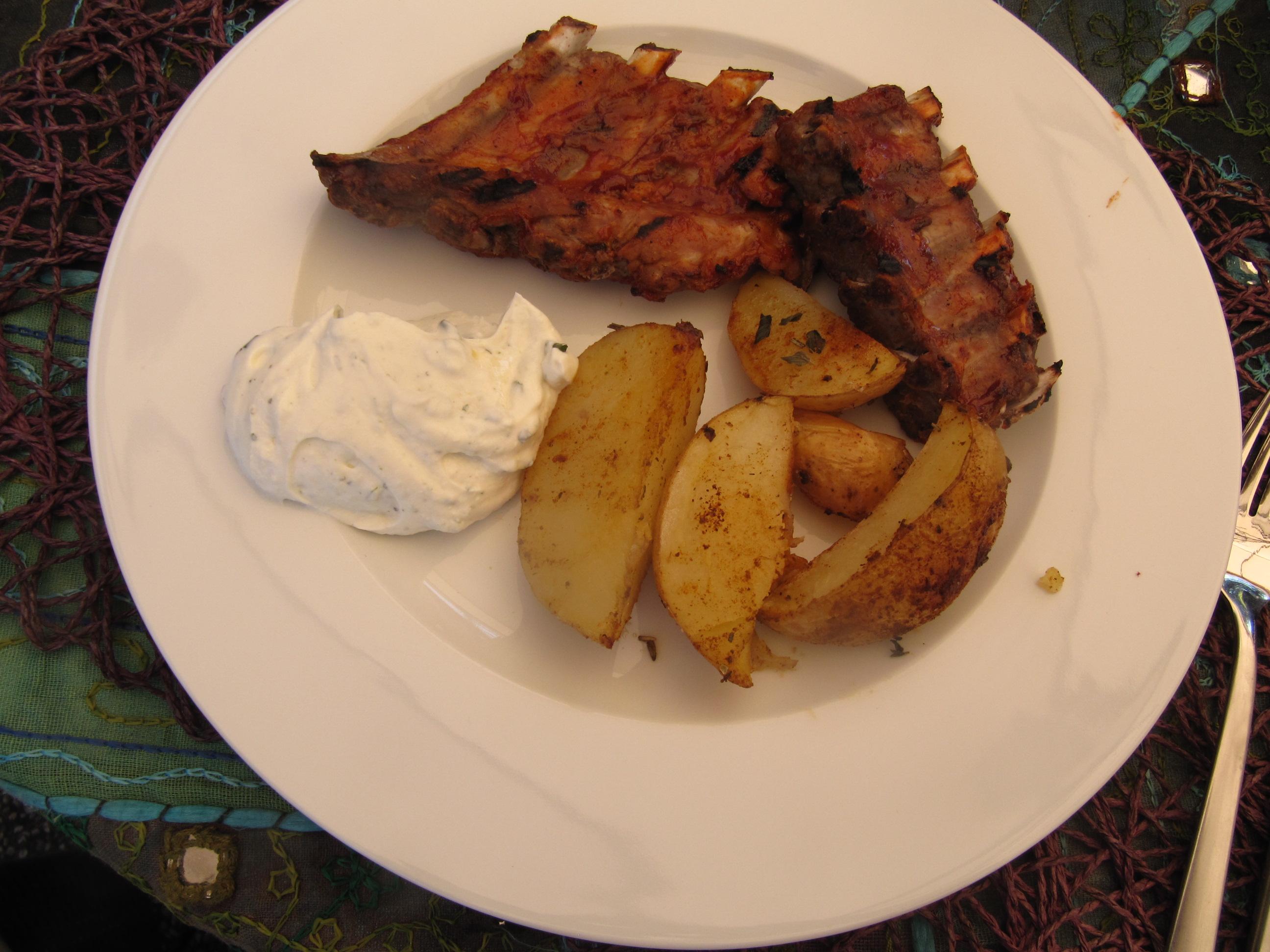 Vorgekochte Spareribs Gasgrill : Rezept nr meine vorgekochten schnellen spareribs für hungrige