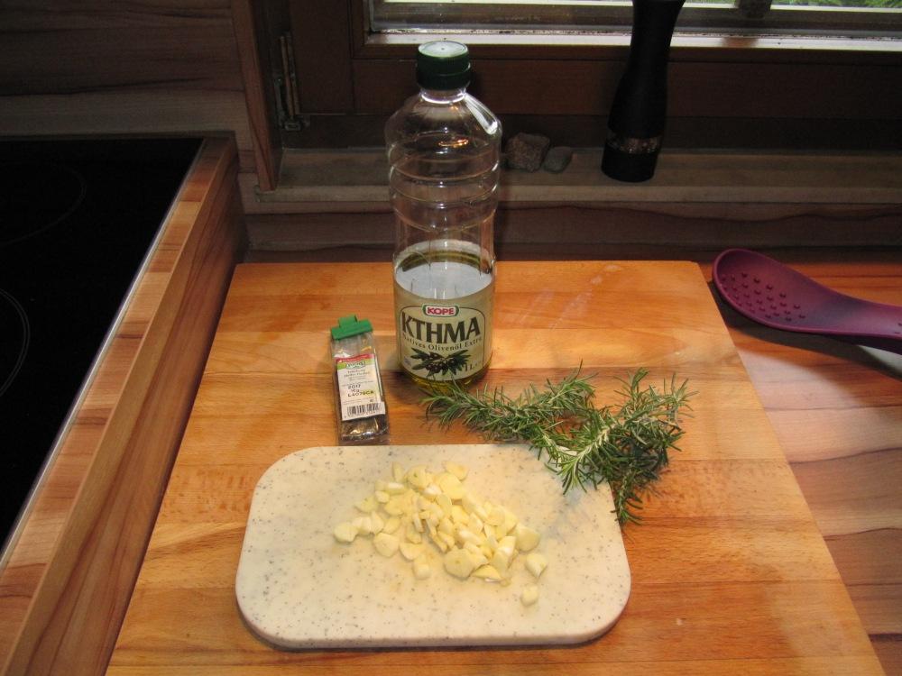 Rezept Nr. 20: Mein Schweinefilet, Grillfackel, Potato-Wedges und gedämpftes Gemüse (3/6)